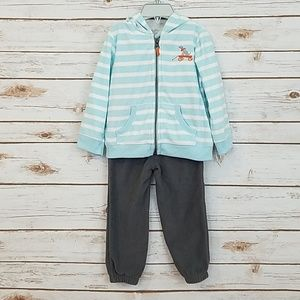 NWT Carter's Hooded Sweater & Pants Size 24 Mths